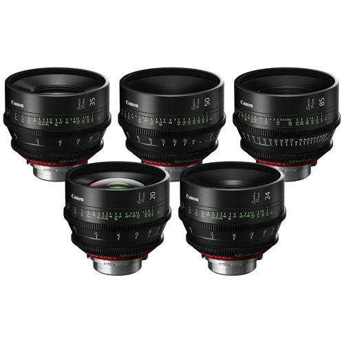 Sumire Cine Prime 5 Lens Set w/ CN-E 20/24/35/ 50/85mm Lens PLMount
