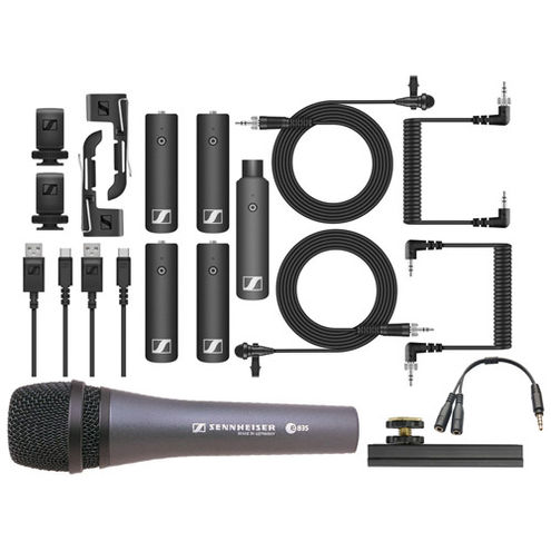 Ultimate Sennheiser Transmitter Bundle 2x XSW Kit 2 lav TX + HH w TX + 2 RX &  Accessories