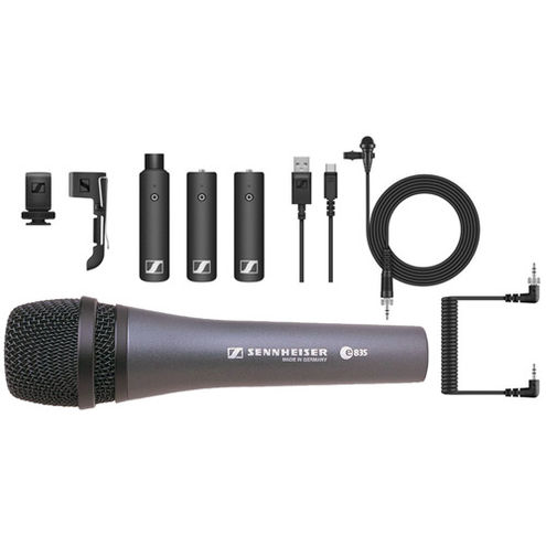 XSW – ENG LAV Kit with additional HH Mic and  XLR TX