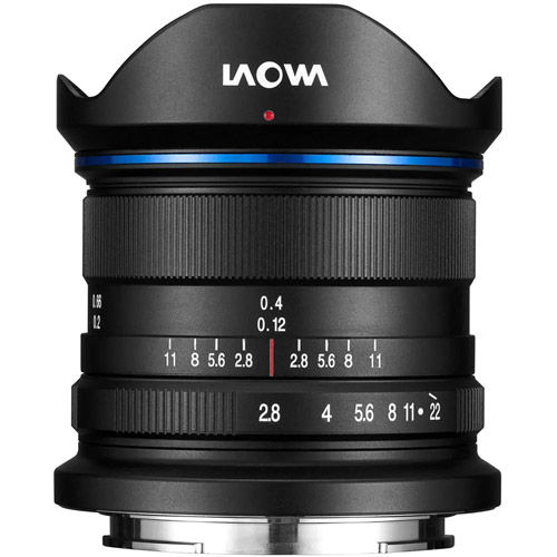 9mm f/2.8 Zero-D Canon M Mount Manual Focus Lens