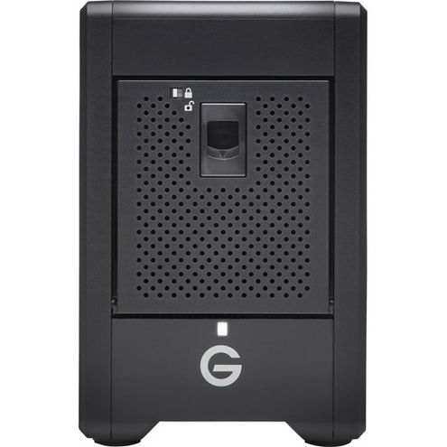 G-SPEED Shuttle 20TB 4-Bay Thunderbolt 3 RAID Array with Two ev Bay Adapters (2 x 10TB)