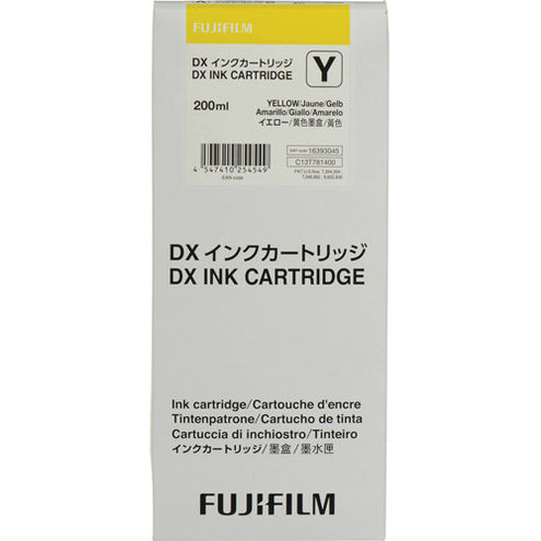 DX100 Ink Cartridge Yellow