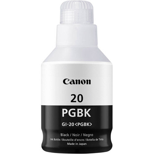 GI-20 Black Ink Bottle 170ml
