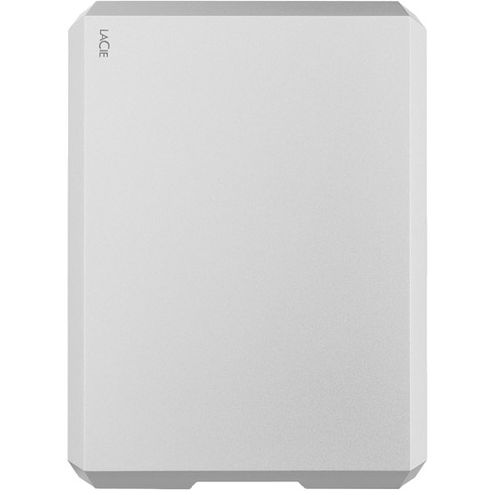 4TB USB 3.1 Type-C Mobile Drive (Moon Silver)