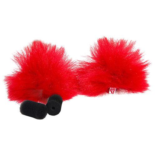 Red Lavalier Windjammer - pair