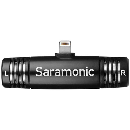 Saramonic Smartmic Di adjustable mic with lightning connect for IOS devices