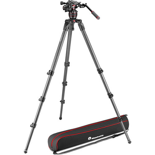 536 Tripod w/ Nitrotech 608 Head And  Padded Bag