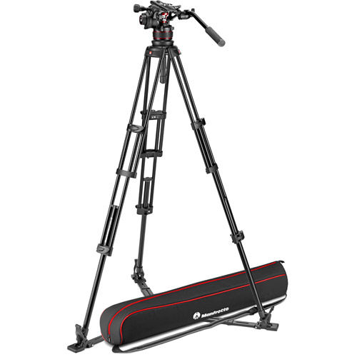 MVTTWINGA Tripod w/ Nitrotech 612 Head And  Padded Bag
