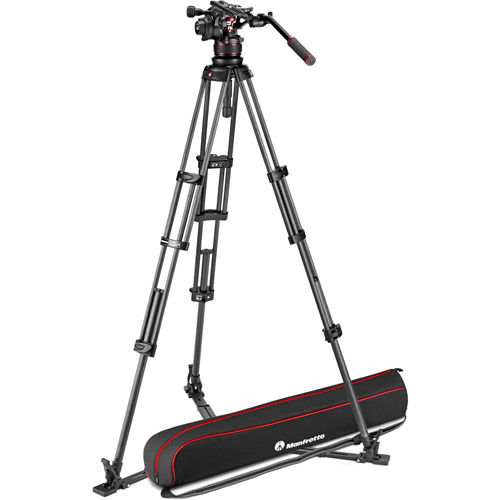 MVTTWINGC Tripod w/ Nitrotech 612 Head And Padded Bag