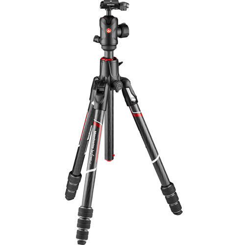 Befree GT XPRO Carbon 4-Section Kit Black w/90° Column And MH496-BH Ball Head