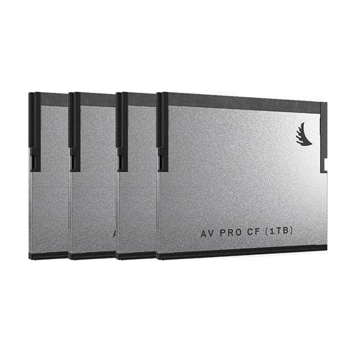 AVPRO CFast 1TB (4 pack)
