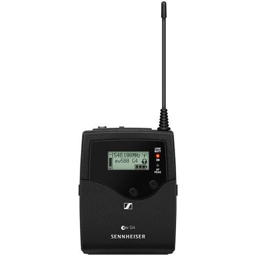 "508434 Bodypack Transmitter Aw+ (470 - 558 MHz) & 1/8"" Audio Input Socket"