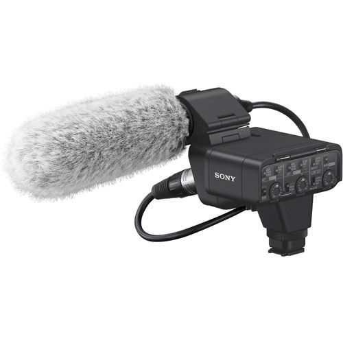 Sony XLRK3M XLR Adaptor Kit w/ Mic for A7RIV, A7SIII