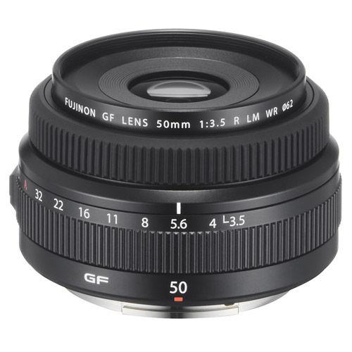 Fujinon GF 50mm f/3.5 R LM WR Lens