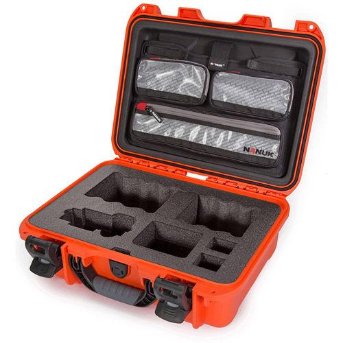 920 Case w/ Sony A7 Custom Foam & Lid Organizer - Orange