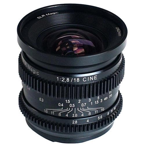 18mm f/2.8 Full Frame Cine Lens for Sony E-Mount