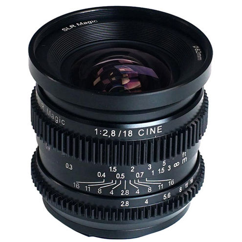 18mm f/2.8 Full Frame Cine Lens for Sony E-Mount