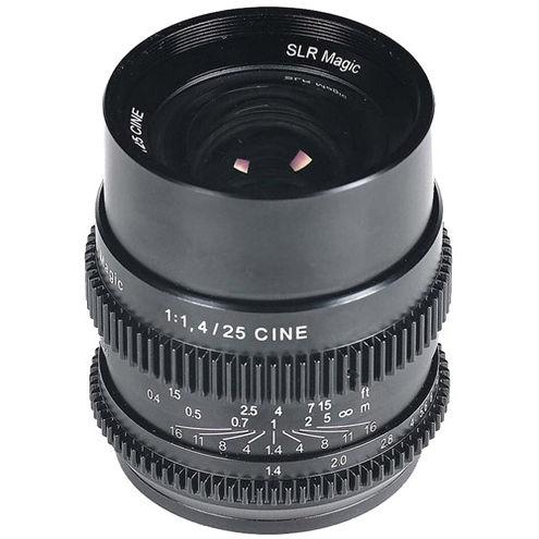25mm f/1.4 Full Frame Cine Lens for Sony E-Mount
