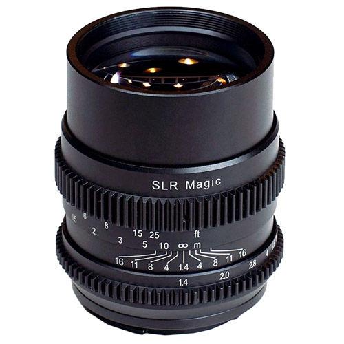 75mm f/1.4 Full Frame Cine Lens for Sony E-Mount