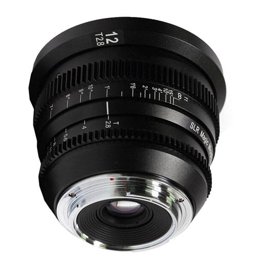 12mm T/2.8 MicroPrime Cine Lens for mFT Mount