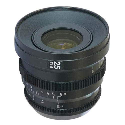25mm T/1.5 MicroPrime Cine Lens for mFT Mount