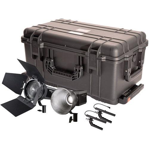 Forza 60 x 2, Refl x 2, FL-11 Lens w 'bdr x 1 2 HD Kit with Case
