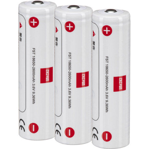 GMB-B118 18650 Battery (3 Pack) for Crane 3 and Weebill Series
