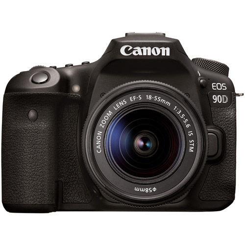 EOS 90D With EF-S18-55mm f/3.5-5.6  Lens