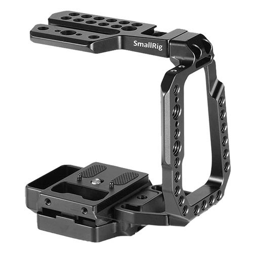 QR Half Cage for Blackmagic Design Pocket 4KCamera