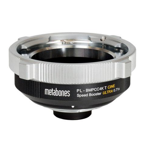 ARRI PL Lens to BMPCC4K T CINE Speed Booster® ULTRA 0.71x