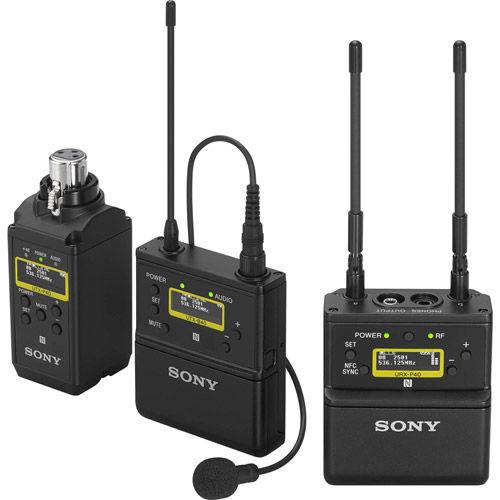 UWP-D26/14 Bodypack, Lav Mic, Plug-on Receiver Kit UTX-B40, UTX-P40, URX-P40,ECM-V1BMP