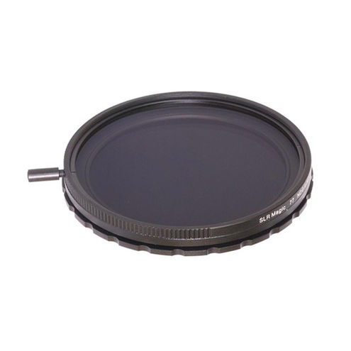 77mm Self-Locking Variable ND II Filter (0.4 to 1.8)