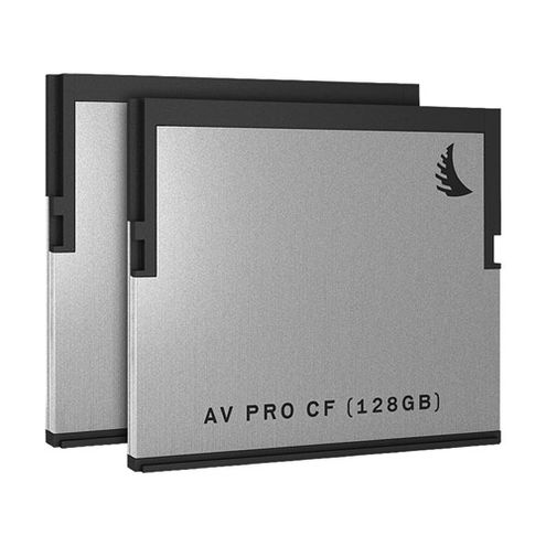 AVPRO 128GB CFast Card, 550MB/s read & 450MB/s Write Speeds (2 Pack)