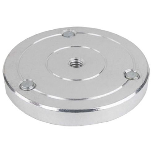 KS-122 Round Plate w/1/4''-20 Thread Hole Dia 59mm