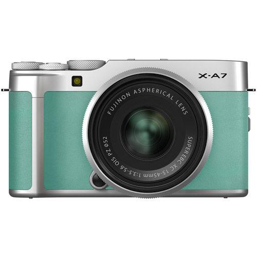 X-A7 Mirrorless Kit Mint Green w/ XC 15-45mm f/3.5-5.6 OIS PZ Lens