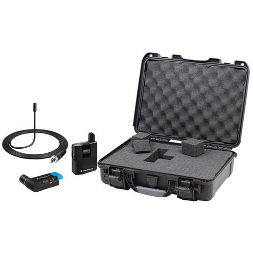 AVX-ME2 SET-4-US AVX Digital Wireless Bodypack ME2 Lavalier System w/ Free Nanuk 910 Case