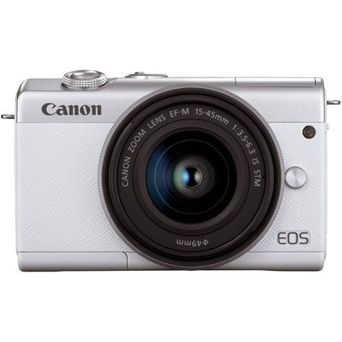 EOS M200 Mirrorless Camera with 15-45 Kit White