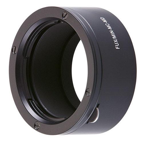Lens Adapter Fuji X-Mount Camera to Minolta MD & MC Lenses