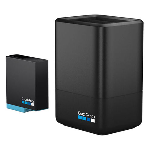 Dual Battery Charger + Battery (H7/H6 BLACK)