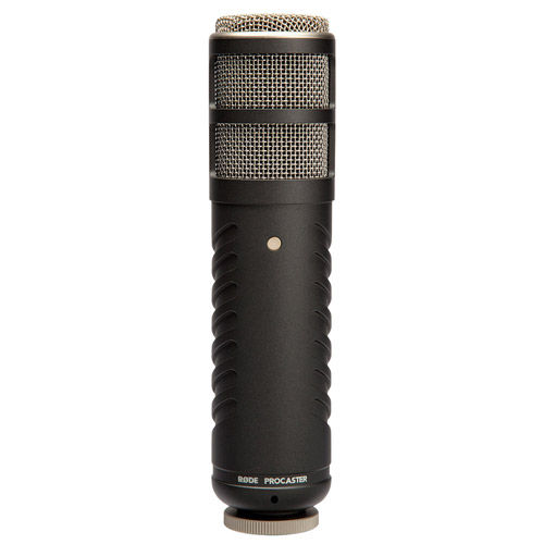 ProCaster Broadcast Quality Dynamic Microphone Comes with Pouch and Mic Holder