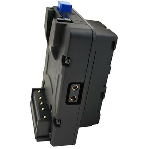 NANO V-lock adapter to NPF/L Series Battery Type Converter Plate w/D-Tap