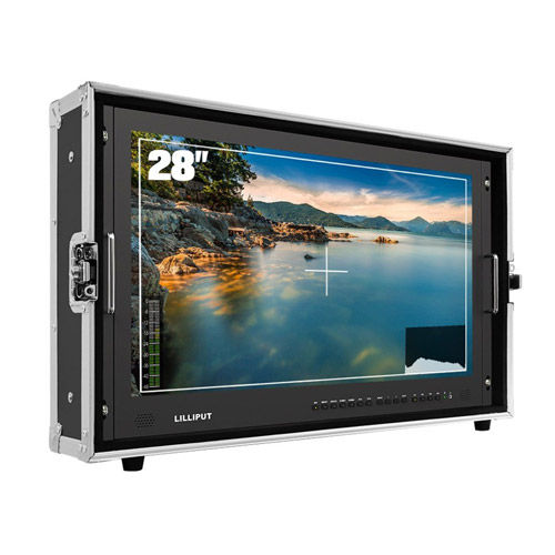 "BM280-4KS 28"" 4K HDMI Carry-On Broadcast Monitor with SDI, HDR, 3D-LUT"