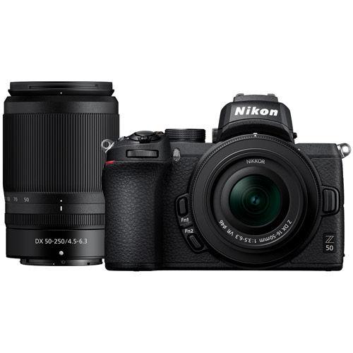 Z50 Mirrorless Kit w/ Z DX 16-50mm & DX 50-250mm Lenses
