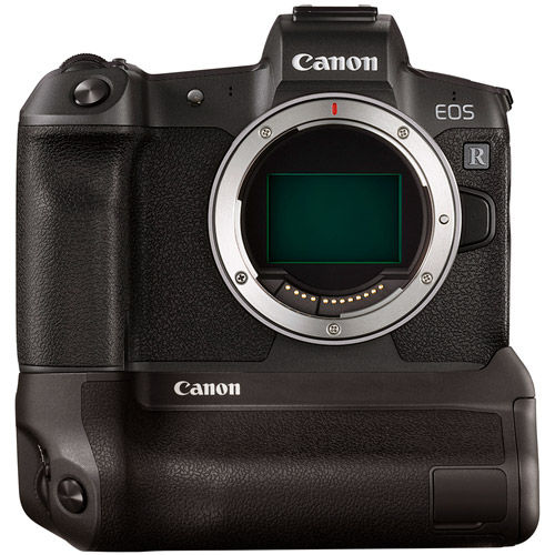 EOS R Full Frame Mirrorless Camera Body with Battery Grip BG-E22 for EOS R