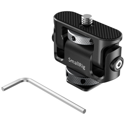 Tiliting Monitor Mount with Cold Shoe
