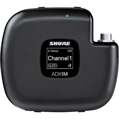 ADX1M-G57 Micro Bodypack Transmitter w/3-Pin LEMO Connector