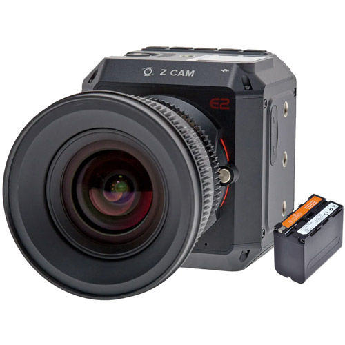 E2 Camera with NP-F970 Lithium-Ion Rechargeable Battery