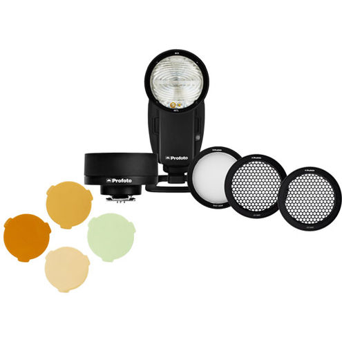 A1X Off-Camera Kit - Sony w/ PROMO Wide Lens, Gel KitAnd Grid Kit