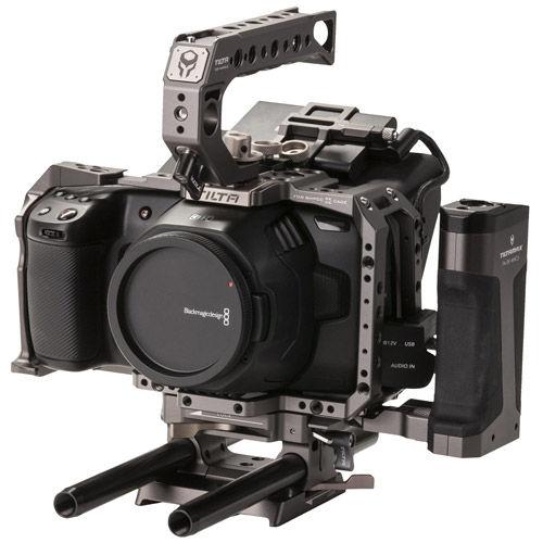 Image of Tilta Advanced Camera Cage Kit for BMPCC 4K/6K Tilta Gray