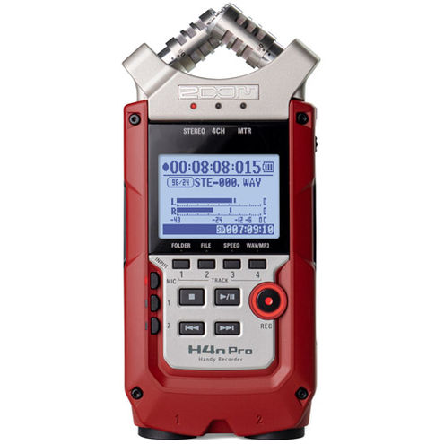 H4N Pro Handy Recorder (RED)